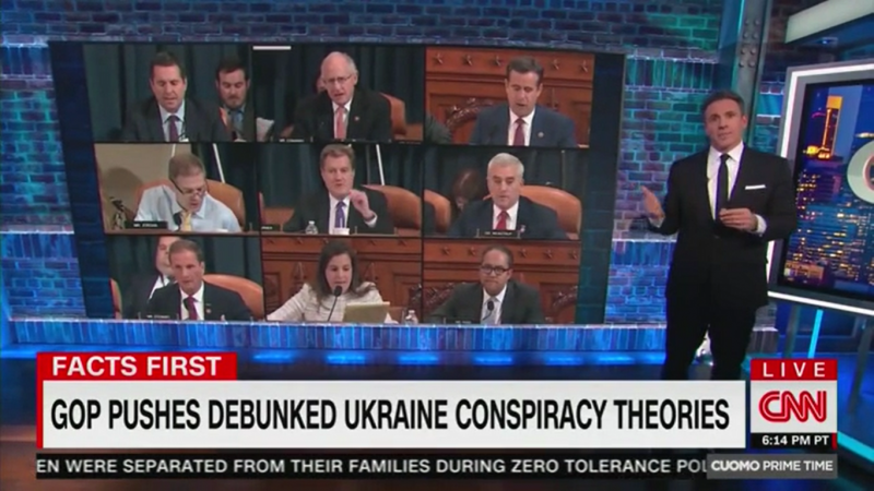 Watch: CNN's Chris Cuomo Dismantles GOP Ukraine Conspiracies