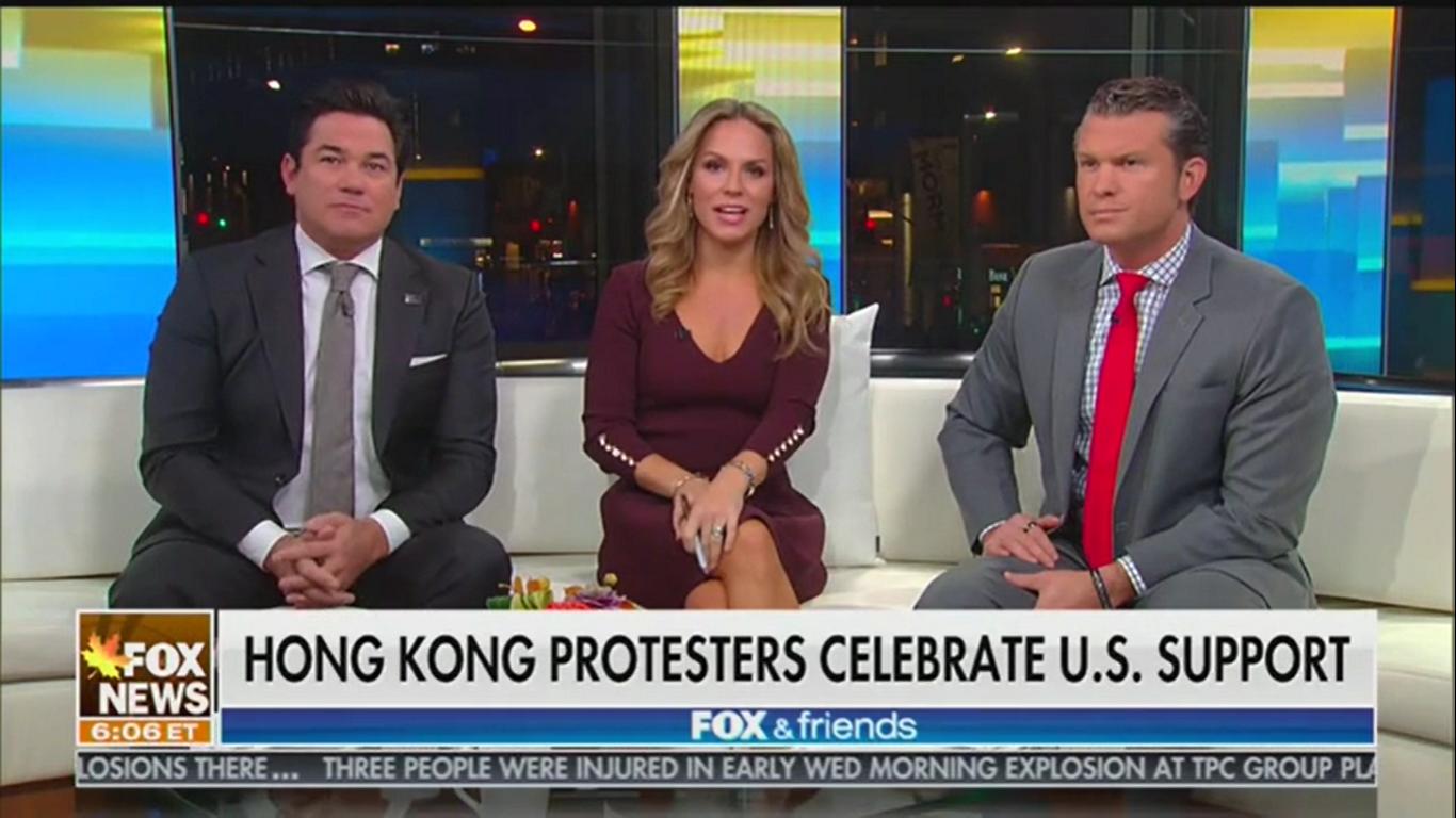 Fox's Pete Hegseth: Hong Kong Protesters Look at Trump and 'They See Rocky Balboa'
