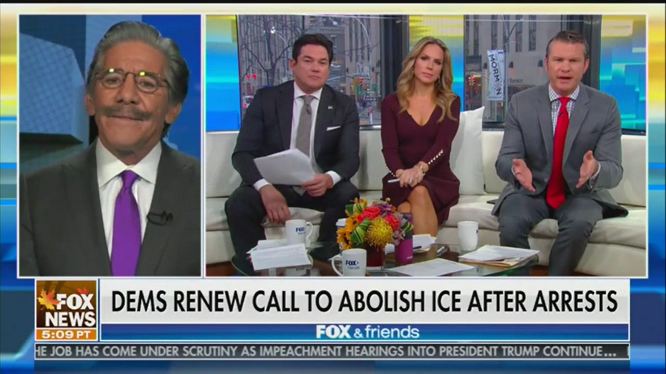 Fox's Geraldo Rivera: Trump 'Doesn't See People Black, Brown, White, Whatever It Is'