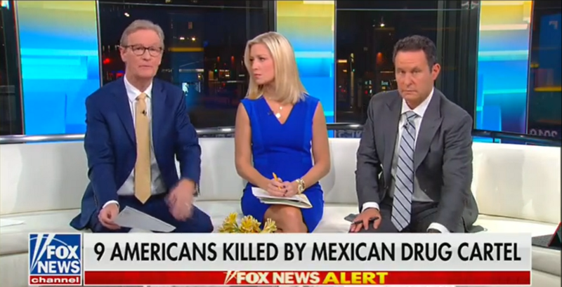Fox's Brian Kilmeade Jokes Mexicans Can 'Go Work in the Fields' if They Won't Fight Drug Cartels