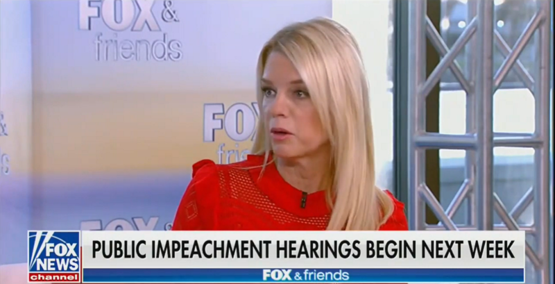 Pam Bondi Tells 'Fox & Friends': What Trump Has Done for the Rule of Law Is 'Truly Remarkable'