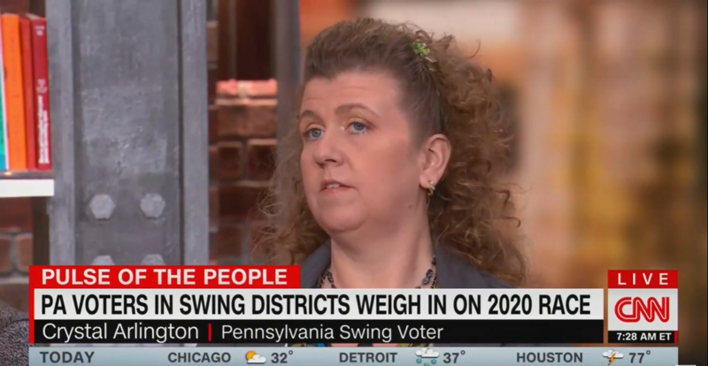 PA Voter Defends Trump Not Building the Wall: Is He Supposed to Print Money at the White House?