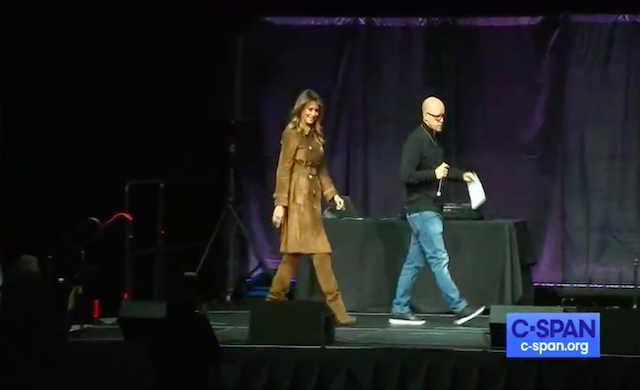 Melania Trump Greeted With Jeers and Boos at Baltimore Youth Summit