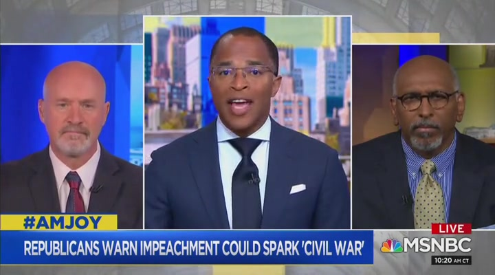 Michael Steele on Republicans Threatening Civil War: 'What the Hell Is Wrong with These People?'