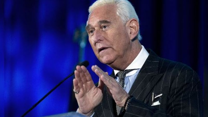 Trump Hints He Could Pardon Roger Stone, Who's Due in Prison on Tuesday
