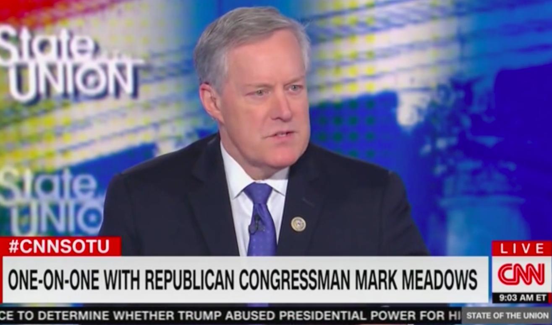 Mark Meadows Denies that Trump Asked Zelensky to Investigate the Bidens