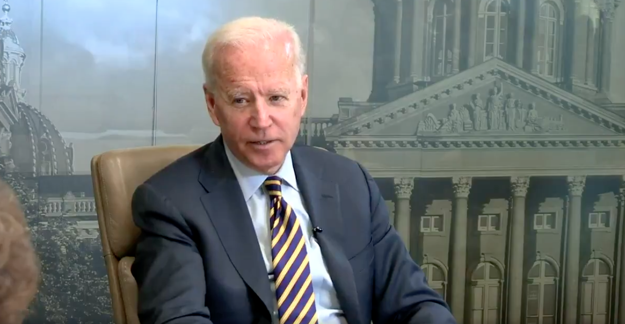 Biden Says If He Gave Impeachment Testimony, It Would Only 'Take the Focus Off' Trump's Wrongdoings