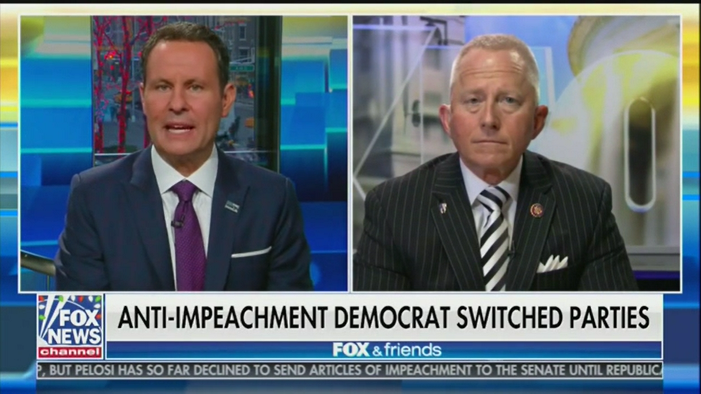 New GOP Rep. Jeff Van Drew: Democrats Told Me to 'Obey' and Vote for Impeachment