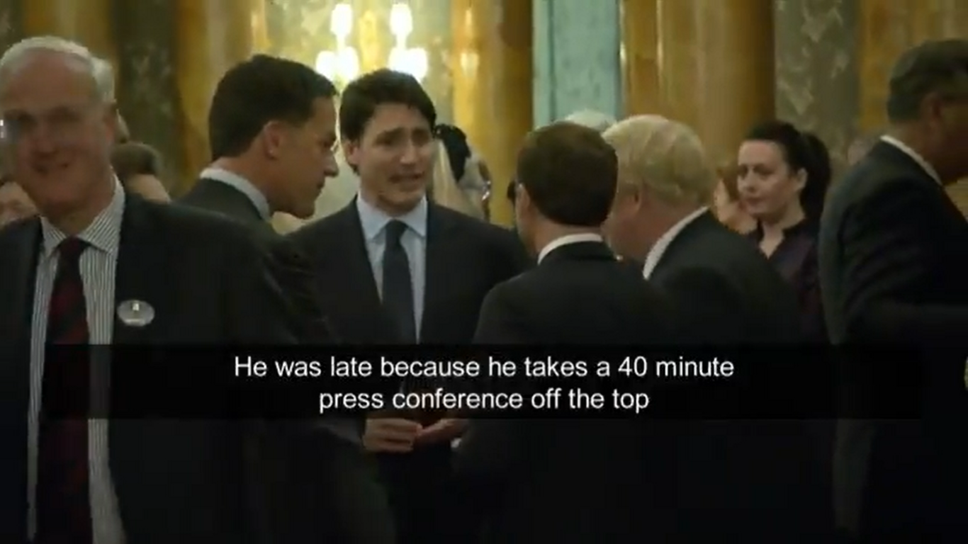 World Leaders Caught on Camera Apparently Mocking Donald Trump