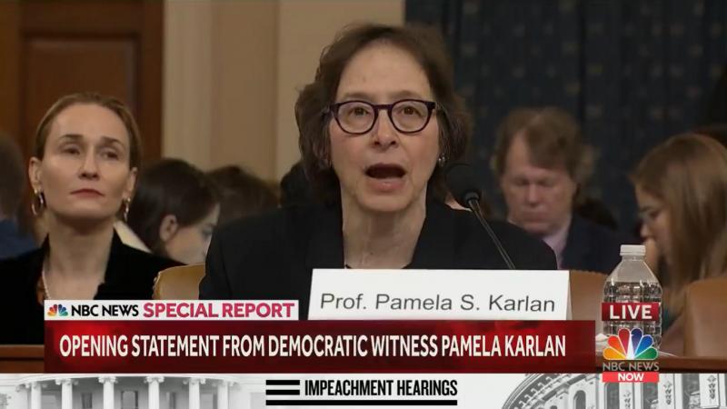 Law Professor Rips Republican Rep. Doug Collins for Suggesting She Hasn't Read Impeachment Transcripts