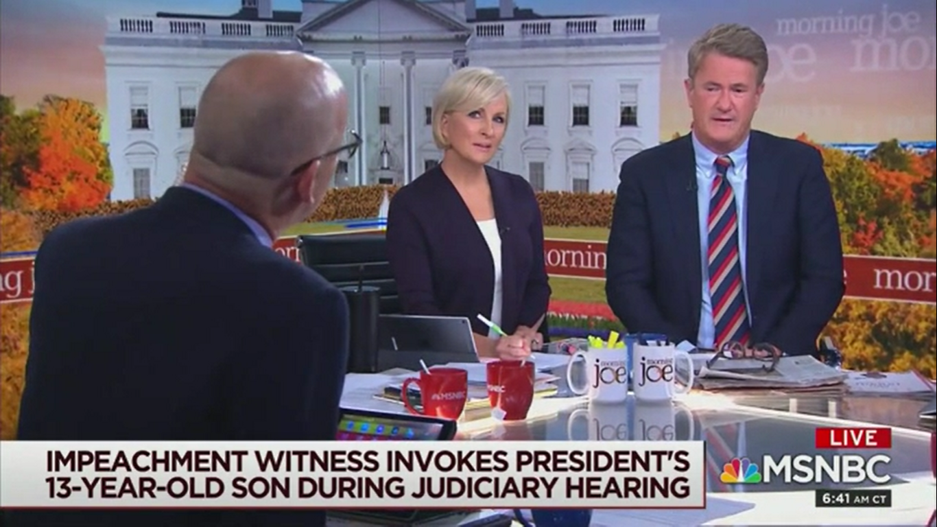 Joe Scarborough Blasts Melania's 'Faux Outrage' About Barron: Trump 'Called Me a Murderer'