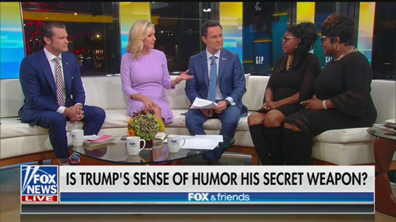 Fox's Ainsley Earhardt: Trump Doesn't Take Things Personally, Isn't 'Combative'