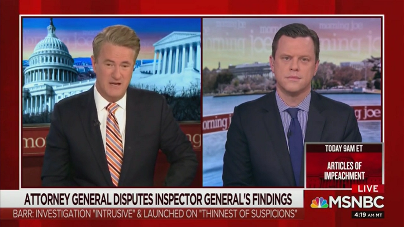 Joe Scarborough: Attorney General Barr 'Really Should Be Disbarred'