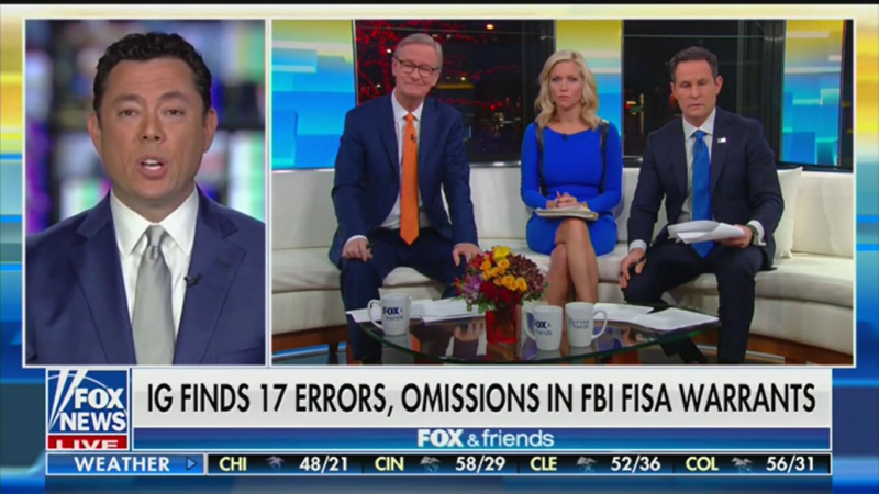 'Fox & Friends': IG Report Found No Political Bias Because They Couldn't 'Get Anybody to Admit' to It