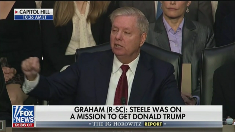 Lindsey Graham: Steele Dossier's 'Golden Shower' Claim Is a 'Bunch of Crap'