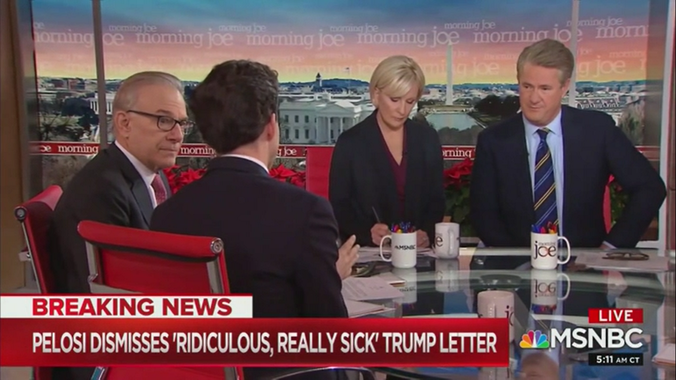 'Morning Joe': Trump's Impeachment Letter Shows He's 'Personally' Wounded