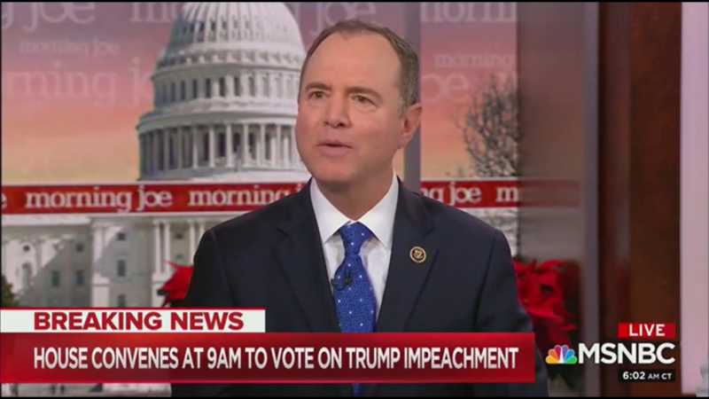 Adam Schiff: Impeachment is Urgent if Trump Is Still Trying to 'Essentially Cheat in the Next Election'