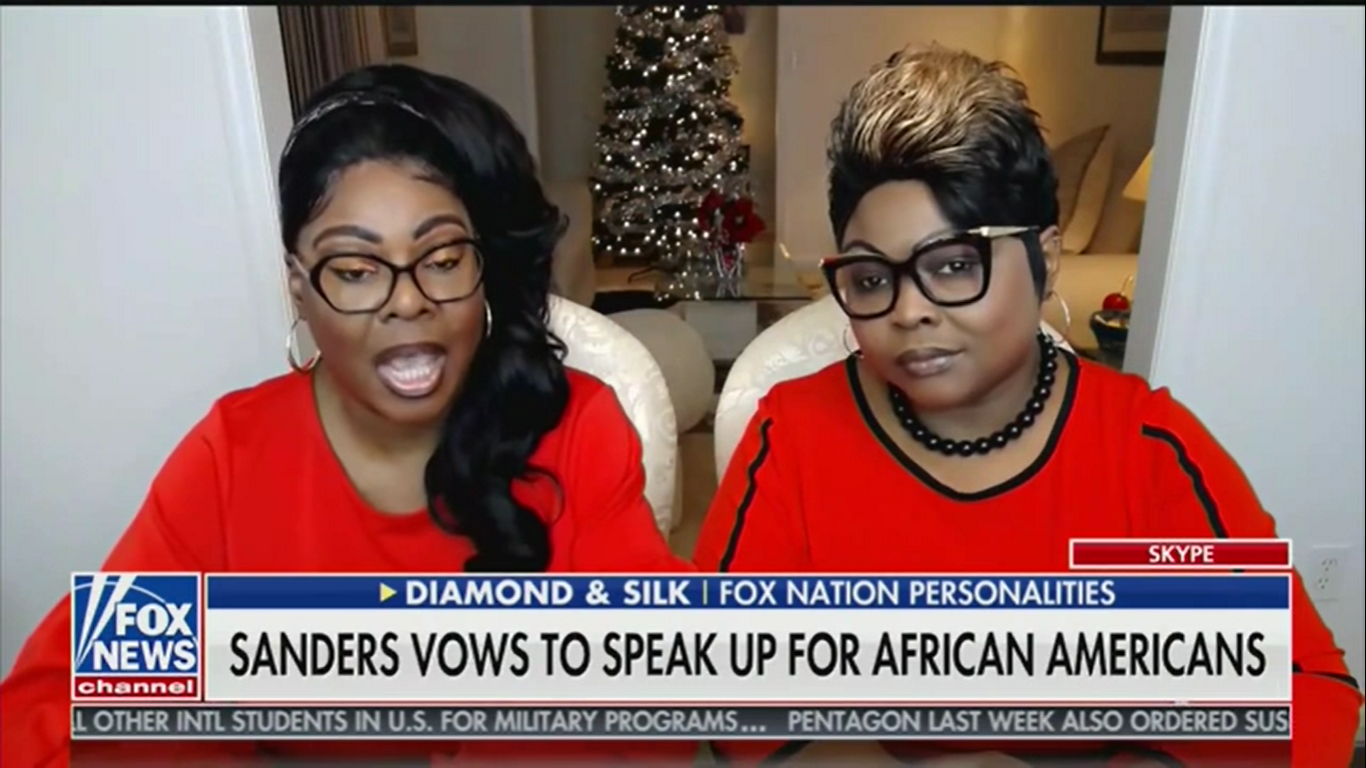 Diamond and Silk: Bernie Sanders Wants to Keep Black People 'Enslaved to the Government'