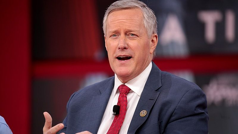 GOP Rep. Mark Meadows Will Leave Congress and Take Job Working for Trump