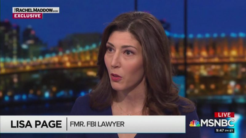 Lisa Page Calls Out Pompeo and Barr for Staying Silent as Trump Attacks Public Servants