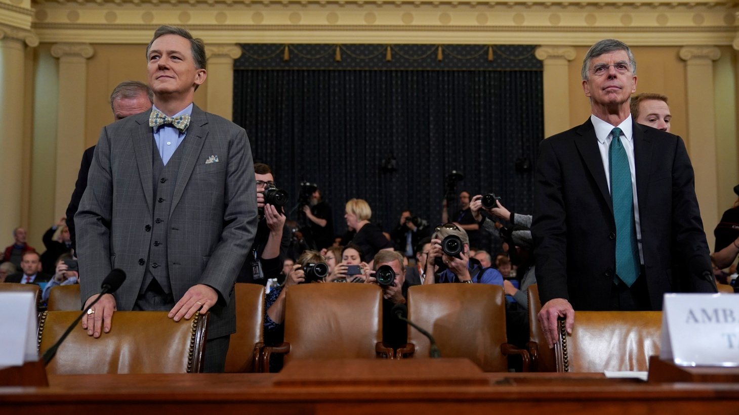 Impeachment Witness Amb. Bill Taylor Will Leave His Job at the End of the Year