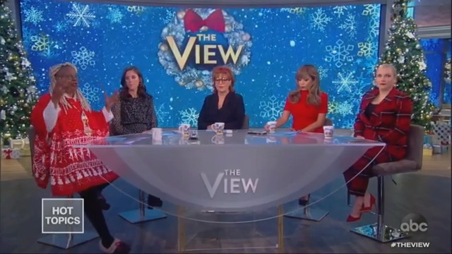 Whoopi Goldberg and Meghan McCain Post-Fight: Everything's 'All Good'