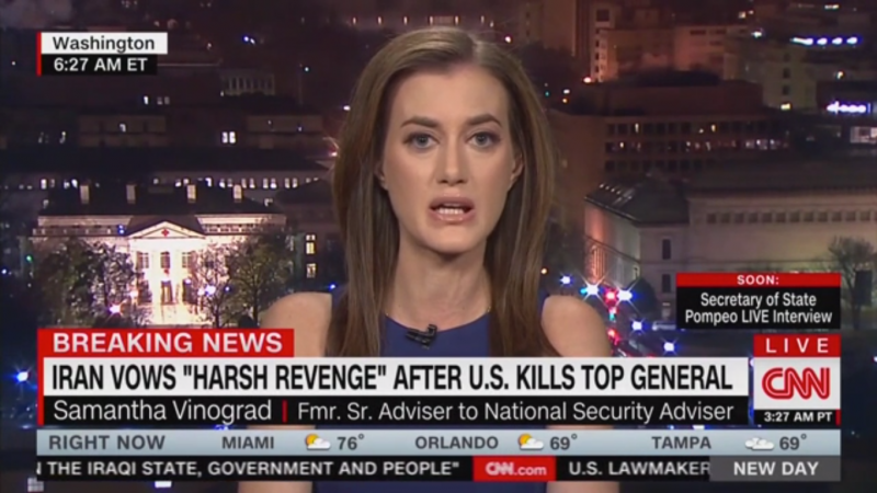 CNN Analyst: 'All Americans Are a Prime Target' for Iran
