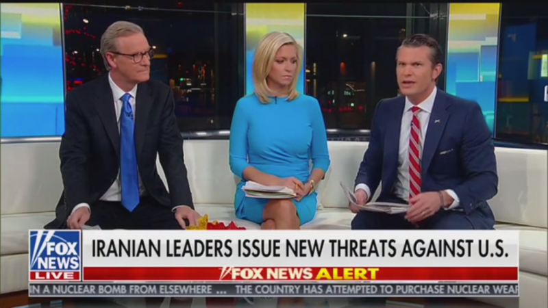 Fox's Pete Hegseth Says Soleimani's Funeral Is 'Propaganda': People Are 'Forced to Attend'