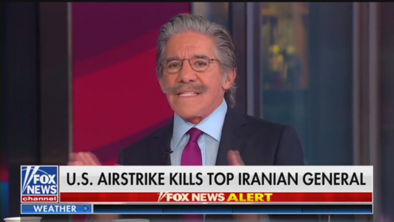 Fox's Geraldo Rivera Clashes with Brian Kilmeade: 'You Never Met a War You Didn't Like'