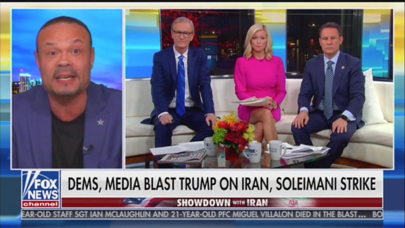 Dan Bongino on Iran: 'The Imminent Threat Was Soleimani Having a Pulse'