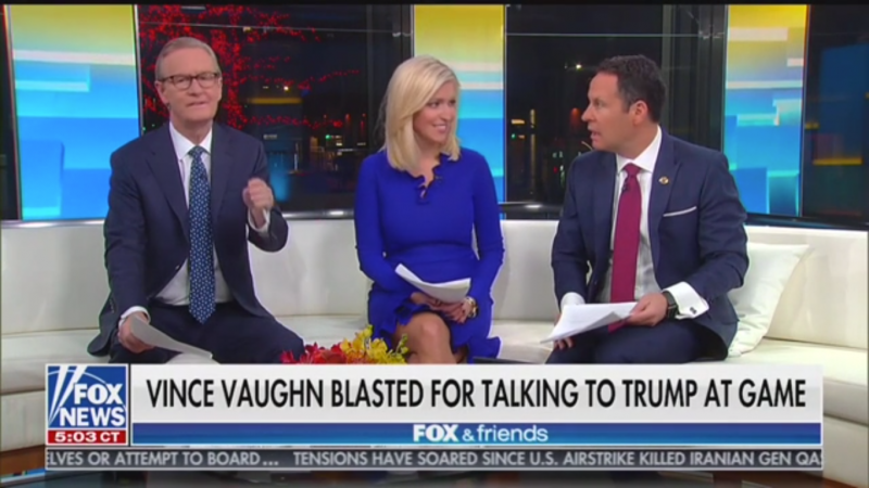 'Fox & Friends': 'Might as well Split the Country Right in Half' Unless Americans Talk to 'the Other Side'
