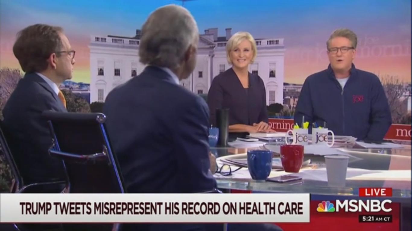 Joe Scarborough Doubts Bernie Sanders Told Elizabeth Warren a Woman Couldn't Win