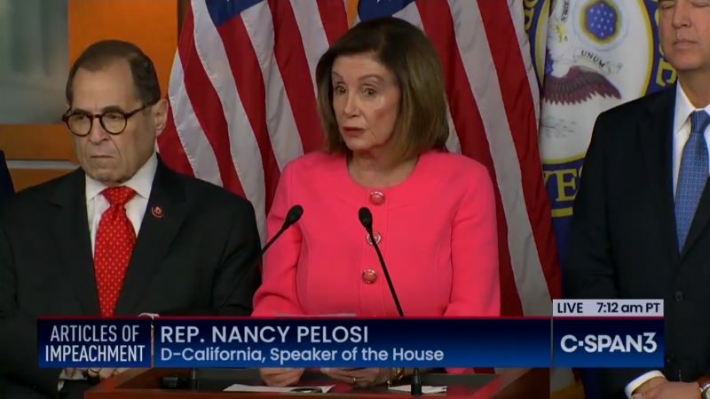 Pelosi Names Adam Schiff, Jerry Nadler and Others As Impeachment Managers