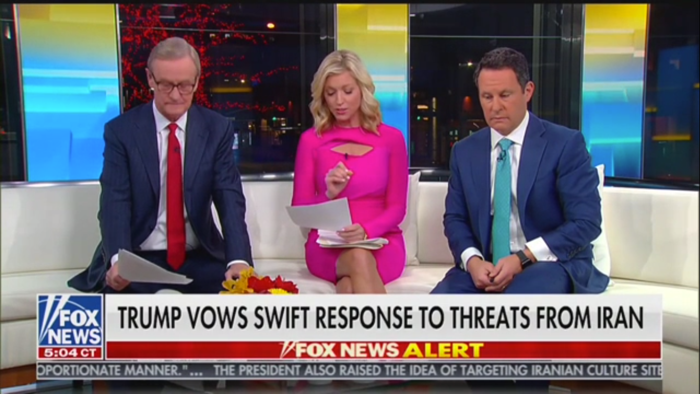 'Fox & Friends': Trump Could Bomb Iranian Cultural Heritage Sites out of 'Military Necessity'