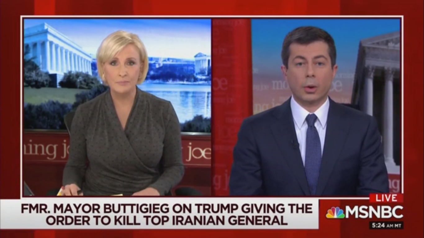Pete Buttigieg on Soleimani: 'Taking Out a Bad Guy Is Not Necessarily a Good Idea'