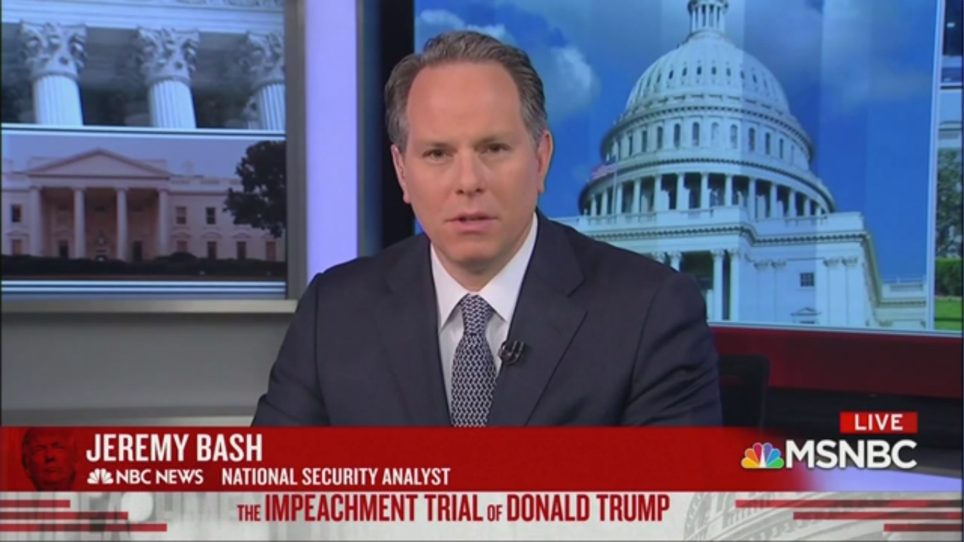 NBC Analyst: By Dershowitz' Logic, Trump Could 'Disband the United States Army' and Not Get Impeached
