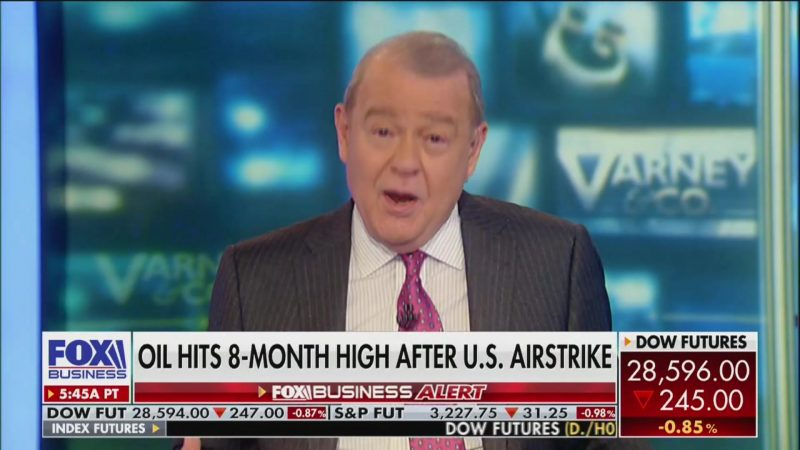 Fox's Stuart Varney on Iran Strike: 'Where Does This Leave Impeachment?'