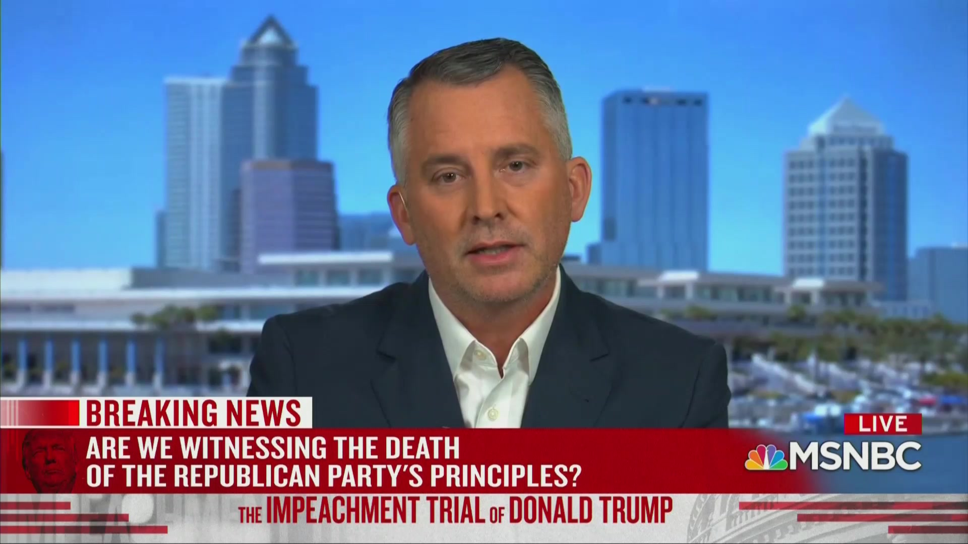 The Republican Party Is 'Completely Devoid of Honor,' Ex-GOP Congressman Says