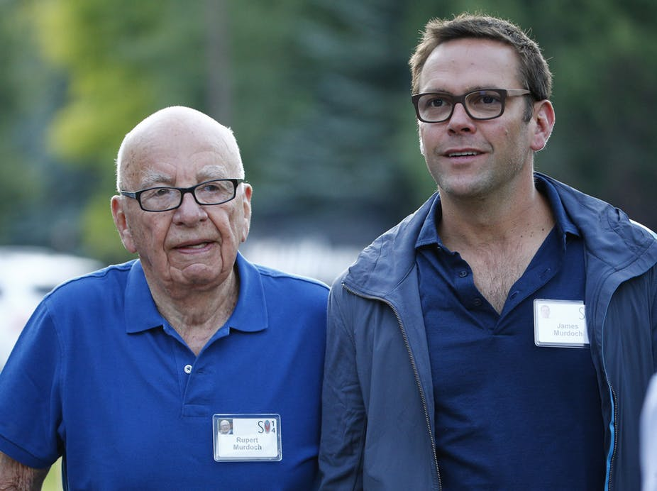 Rupert Murdoch's Son Rebukes Fox News for Climate Change Denial