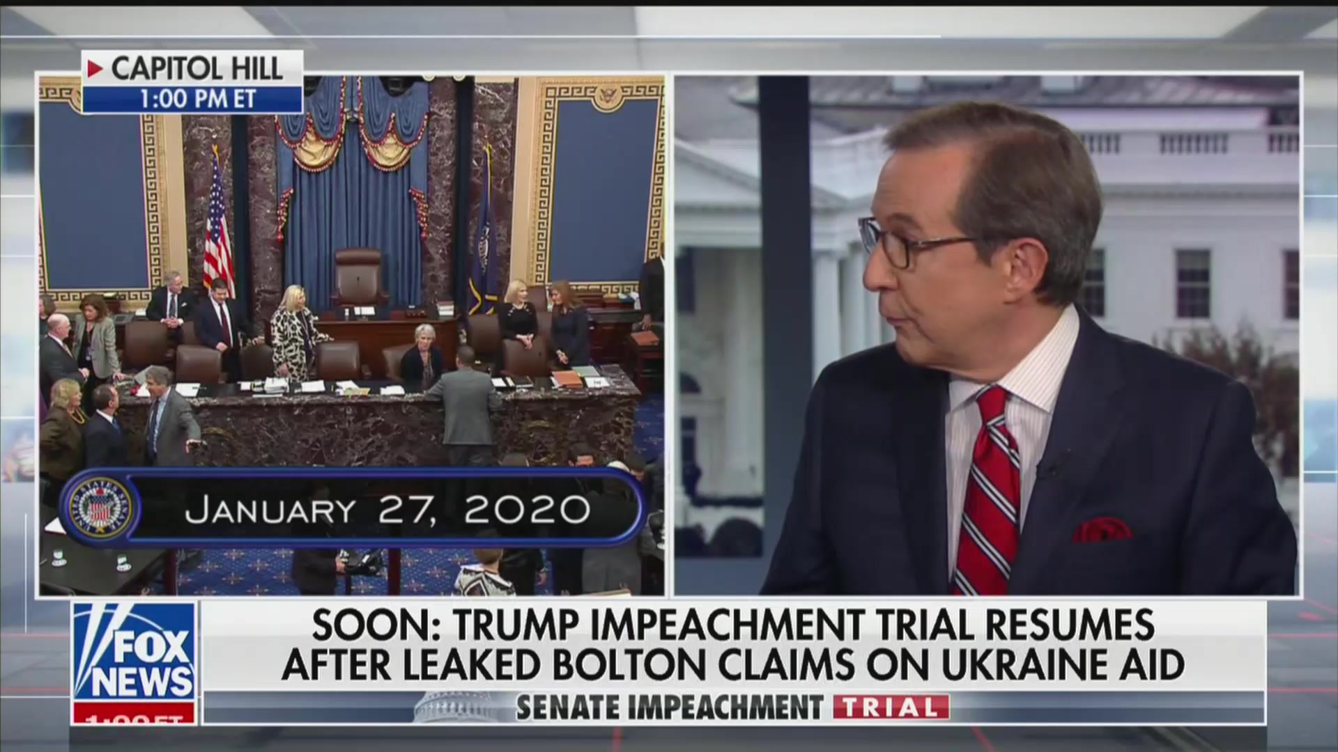 'Get Your Facts Straight!' Fox News' Chris Wallace Tears Into Right-Wing Pundit During Impeachment Debate