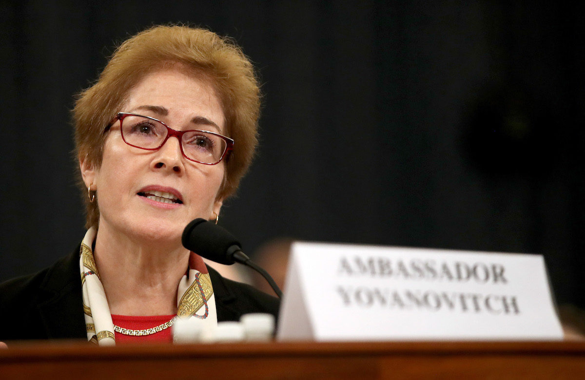 Fmr. Ambassador Marie Yovanovitch Warns of 'Amoral' U.S. Foreign Policy