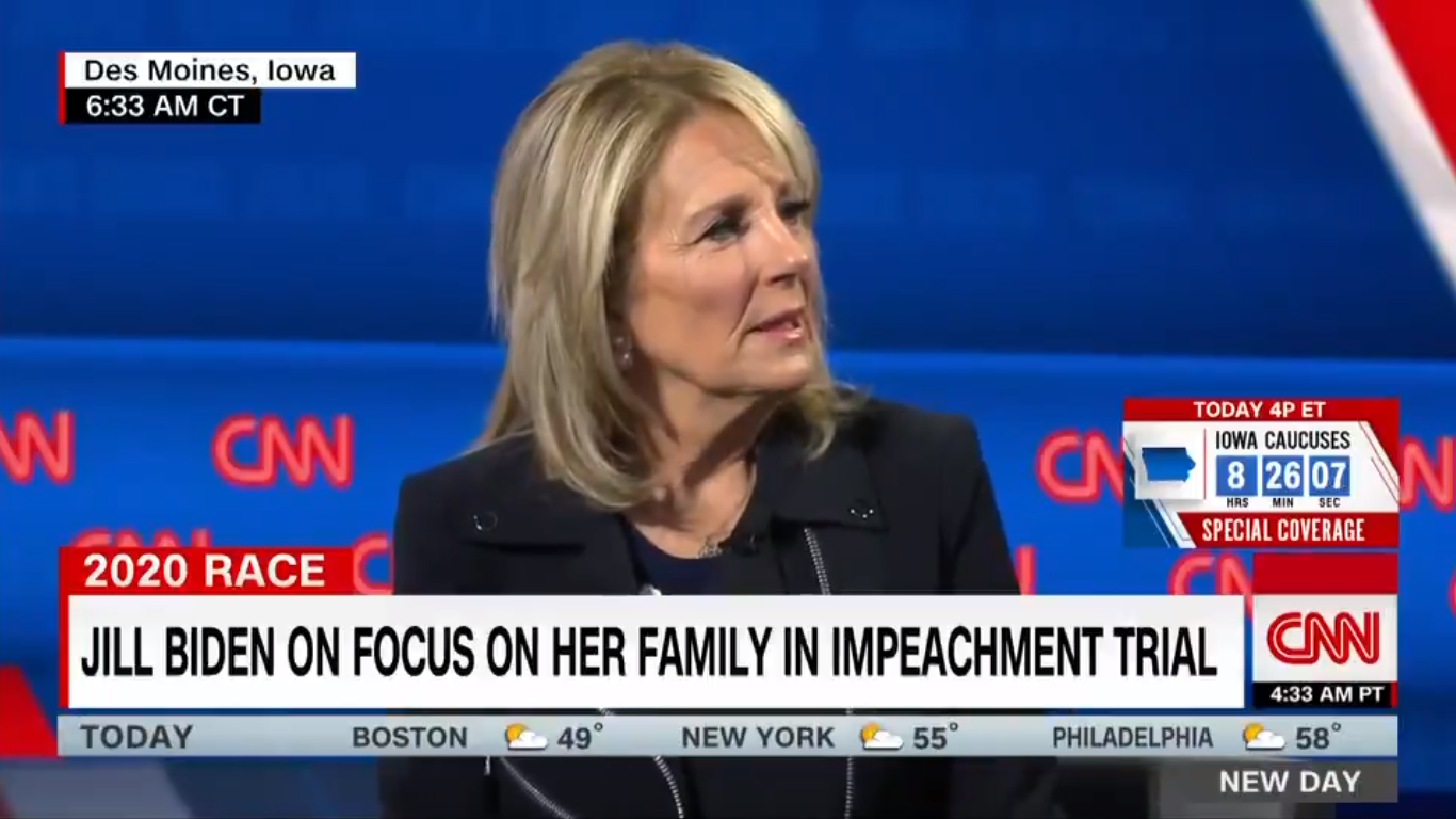 Jill Biden Says Lindsey Graham Was 'Great Friend': 'I Don't Know What Happened to Lindsey'