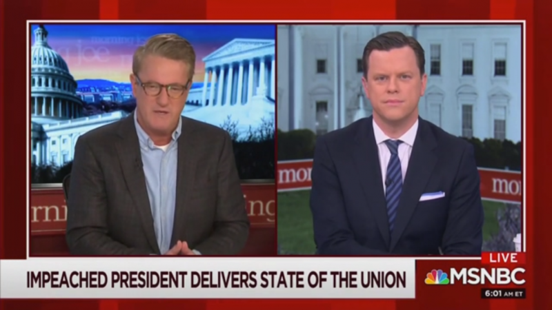 Joe Scarborough Slams Trump's State of the Union: 'The Lies Were Preposterous'