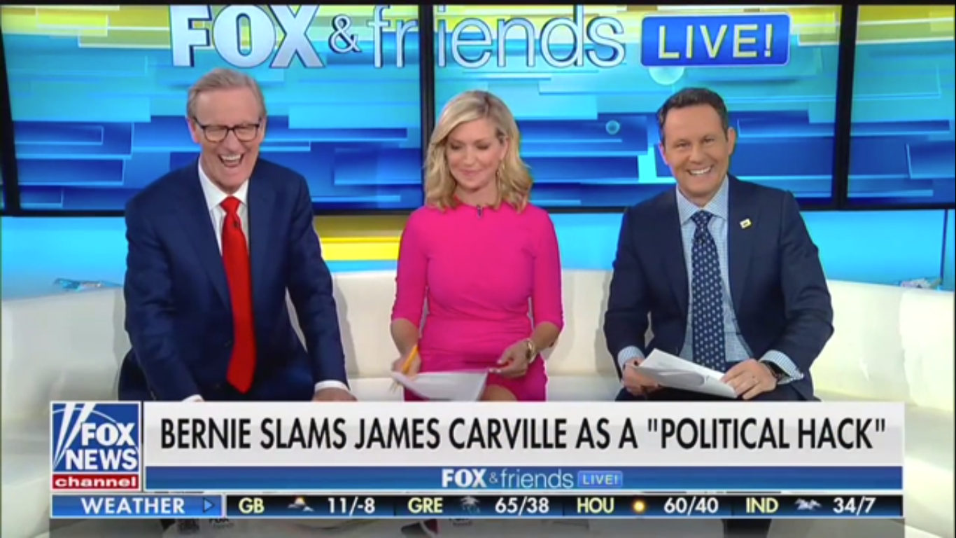 'Fox & Friends': 'It's Fun' Watching Democrats 'Tearing Each Other Apart'