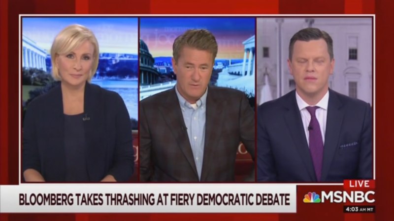 MSNBC's Willie Geist on Bloomberg's Debate Performance: 'They Tore the Skin Off Him'