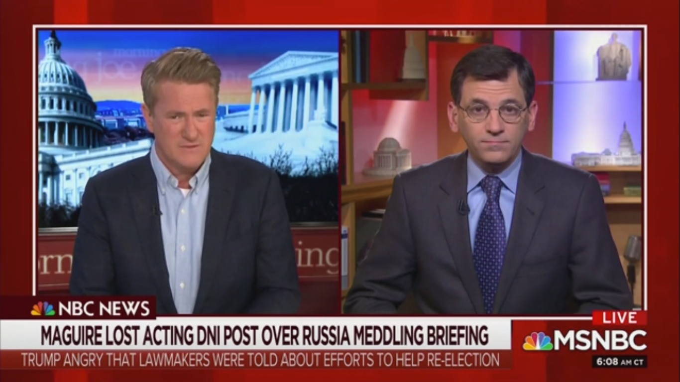 MSNBC Analyst Wonders if Russia Might Support Sanders Because He's 'Ideologically in Tune' with the Soviet Union