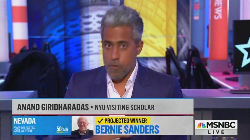 MSNBC Analyst Calls Out Colleague Chris Matthews for Bernie Nazi Analogy