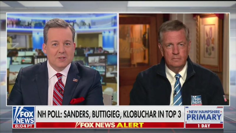 Fox News' Brit Hume: Bernie Spreading 'Conspiracy Theory' That Billionaires Are 'Running the Country'