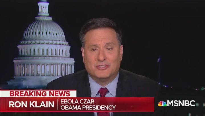 Trump Administration 'Has Silenced the People We Can Trust,' Obama's Ebola Czar Says