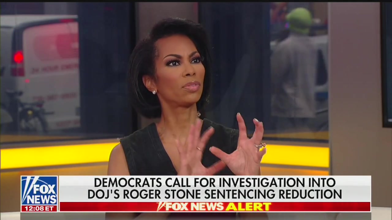 Fox News' Harris Faulkner: Roger Stone Controversy 'Completely Avoidable' If Trump Just Pardons Him